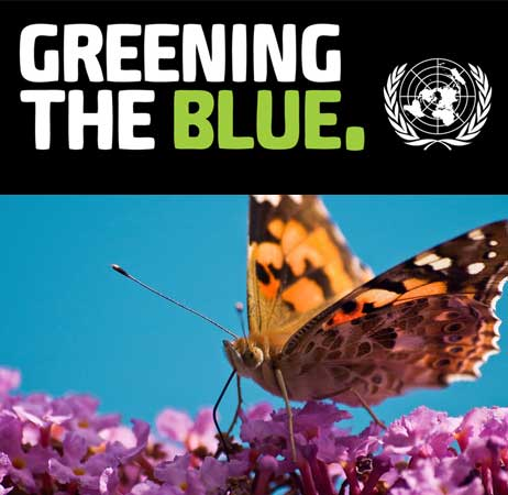 Greening The Blue